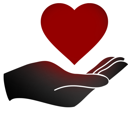 VAJEX Welfare & Assistant - Hand holding a heart